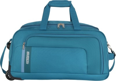American Tourister CAMP WHEEL DUFFLE 57cm – TEAL Duffel Strolley Bag