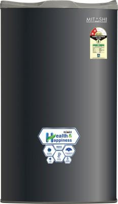 Mitashi 100 L Direct Cool Single Door 2 Star (2019) Refrigerator(Grey, MSD100RF200)