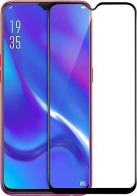 DPROQ Edge To Edge Tempered Glass for POCO F1(Pack of 1)