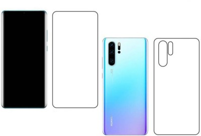 Fashion Way Front and Back Screen Guard for Huawei P30 Pro(Pack of 2)