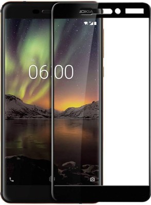 Knotyy Tempered Glass Guard for Nokia 6.1(Pack of 1)