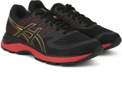 Asics Gel-Pulse 10 Mugen Running Shoe For Men(Black) at flipkart