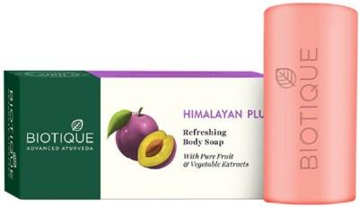 Biotique Bio Himalayan Plum Refreshing Body Soap 2x150g(2 x 150 g)