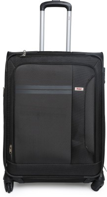 VIP PLAZMA 4W EXP STROLLY 65 BLACK Expandable  Check-in Luggage - 28 inch(Black) at flipkart