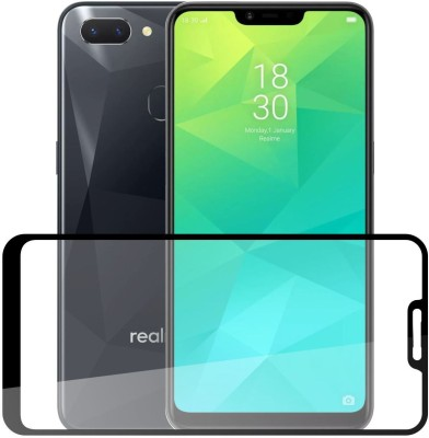Case Creation Edge To Edge Tempered Glass for Realme 2(Pack of 1)
