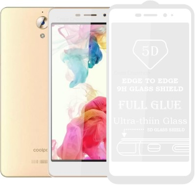 Case Designer Edge To Edge Tempered Glass for Coolpad Mega 2.5D (16GB, 2GB RAM)(Pack of 1)