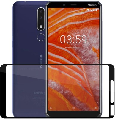Case Creation Tempered Glass Guard for Nokia 3.1 Plus 2018(Pack of 1)