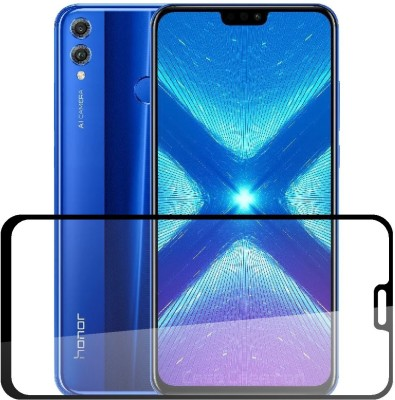 Case Designer Tempered Glass Guard for Huawei Honor 8X(Pack of 1)