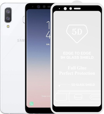 """Case Creation Tempered Glass Guard for Samsung Galaxy A8 Star 6.28\""""inch 2018(Pack of 1)"""