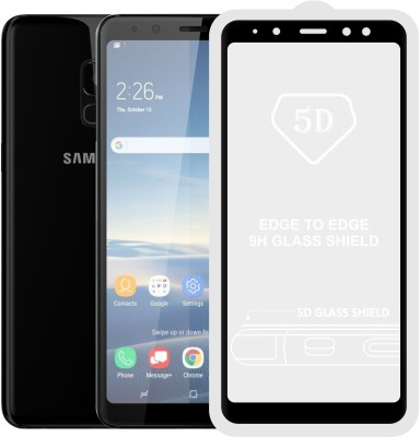 Case Creation Edge To Edge Tempered Glass for Samsung Galaxy A8 Plus(Pack of 1)