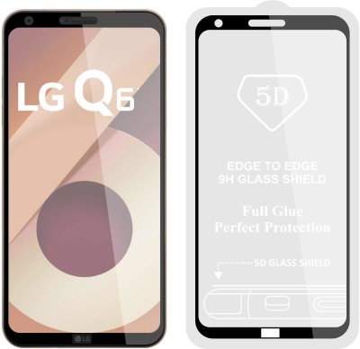 Case Creation Tempered Glass Guard for LG Q7 (2018)(Pack of 1)