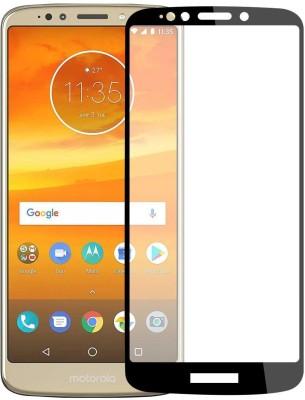 Case Creation Edge To Edge Tempered Glass for Motorola Moto E5 Plus 2018(Pack of 1)