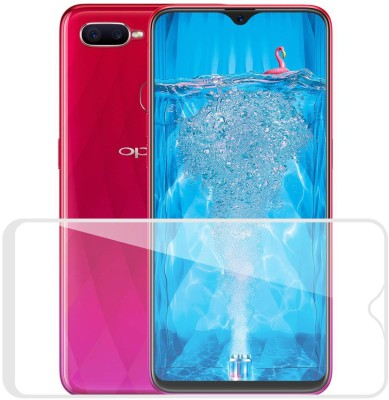 Case Designer Tempered Glass Guard for Oppo F9(Pack of 1)