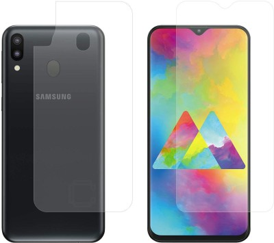 Case Creation Screen Guard for Samsung Galaxy M20, Samsung Galaxy A10(Pack of 2)