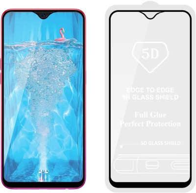 Case Designer Edge To Edge Tempered Glass for OPPO F9 Pro(Pack of 1)