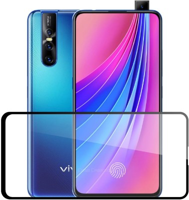 Case Designer Edge To Edge Tempered Glass for Vivo V15 Pro 2019(Pack of 1)