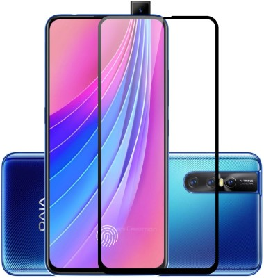 Case Creation Tempered Glass Guard for Vivo V15 Pro(Pack of 1)