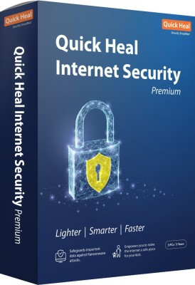 Quick Heal Internet Security 3 User 3 Years(CD/DVD)