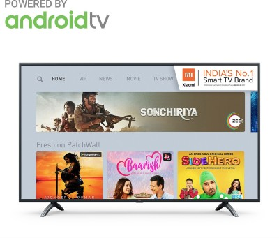 Image of Mi 4X 55 inch Ultra HD 4K Smart Android TV which is one of the best tv under 40000