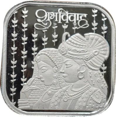 Kataria Jewellers Shubh Vivah S 999 20 g Silver Bar