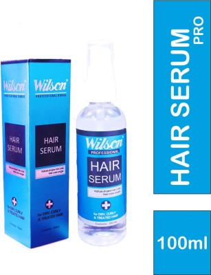 Wilson Hair Serum Pro- Premium quality Serum for Dry Curly & Treated Hair(100)