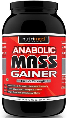 Nutrimed Anabolic Mass Gainer (1Kg, Banana)
