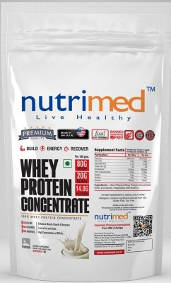 Nutrimed Whey Protein Concentrate (908gm, Butterscotch)