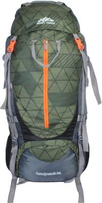 Mount Track 9106 Aerodynamic, Hiking bag, Trekking Backpack with rain cover Rucksack  - 80 L(Multicolor)