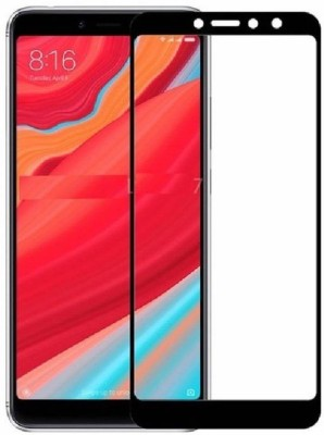Kuber Edge To Edge Tempered Glass for Redmi Mi S2, Mi Redmi Y2(Pack of 1)