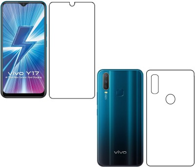 The Best Choice Front and Back Screen Guard for Vivo Y15 Front And Back Hammer Glass Screen Protector Impossible Protection Nano Tech/ Unbreakable