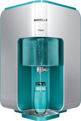 HAVELLS GHWRPMB015-RO-MAX 8 L RO + UV + UF + TDS Water Purifier(WHITE & GREEN)