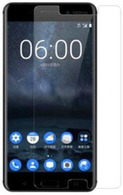 Tempered Glasses Edge To Edge Tempered Glass for Nokia 6.1 A(Pack of 1)