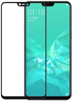 Richuzers Edge To Edge Tempered Glass for Realme 2(Pack of 2)