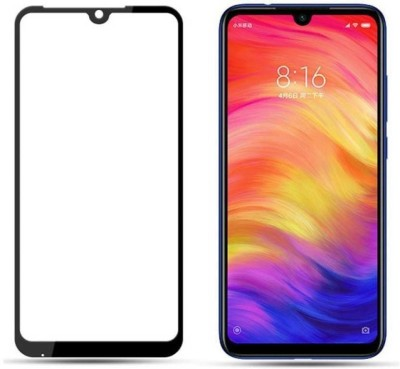 Jabox Edge To Edge Tempered Glass for REDMI 7(Pack of 1)