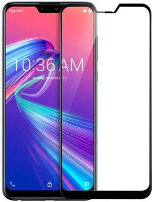 Richuzers Edge To Edge Tempered Glass for Asus Zenfone Max Pro M2(Pack of 2)