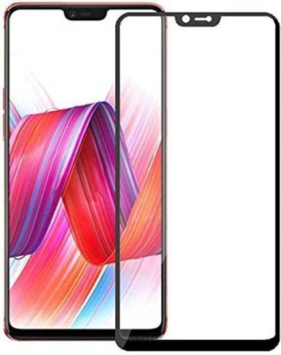 Richuzers Edge To Edge Tempered Glass for Vivo V9(Pack of 2)