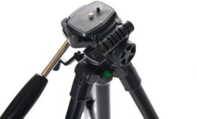 Simpex 690 Tripod Black, Supports Up to 3000 g