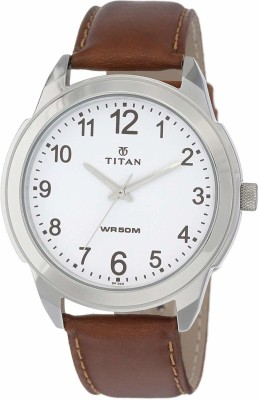 Titan 1585SL07C Analog Watch   For Men Titan Wrist Watches