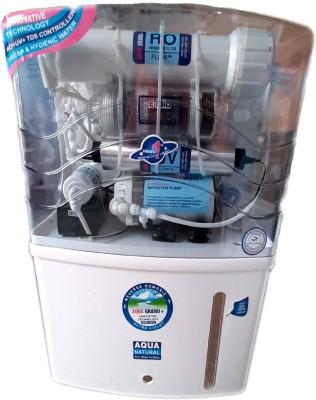 Aqua 12 LTR RO+UV+UF+TDS CONTROLLER+ALKALINE 12 L Mineral RO +...