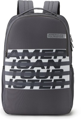 American Tourister BOUNCE CASUAL BACKPACK 03 – GREY 28 L Backpack
