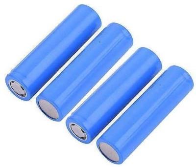 Schrodinger SCHRO70059 18650 Rechargeable Li ion 4 pcs 2000mah 3.7V Battery Pack of 4  Schrodinger Batteries