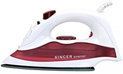 Singer EMERALD DX (SSI 125 EDT) 230 W Steam Iron(WHITE AND PINK)