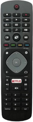 SHREE ASHTAVINAYAK ENTERPRISES Led LCD Tv Remote Works with Almost All Philips Smart Tv Remote Controller(Black)