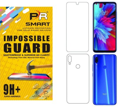 PR SMART Front and Back Tempered Glass for (Flexible), Mi Redmi Y3, Mi Y3(Pack of 2)