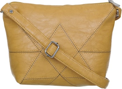 Rozen Beige Sling Bag PU Leather slin gbag roz 130 Rozen Sling Bags