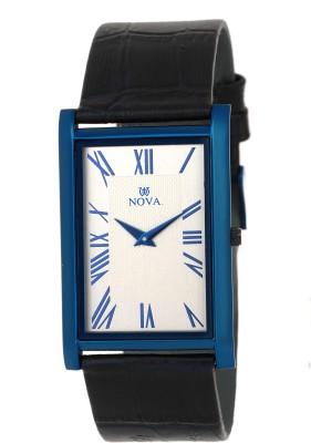 Nova Men's Blue Slim MEN SLIM SERIES Analog Watch  - For Men