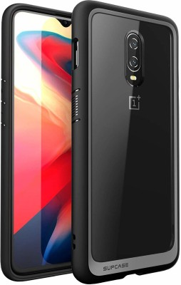 SUPCASE Back Cover for OnePlus 6T(Black, Shock Proof)