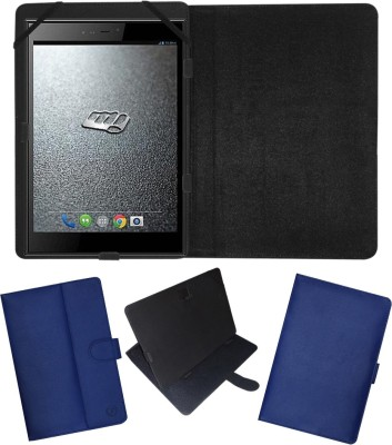 Fastway Flip Cover for Micromax Canvas Breeze Tab P660(Blue, Cases with Holder)