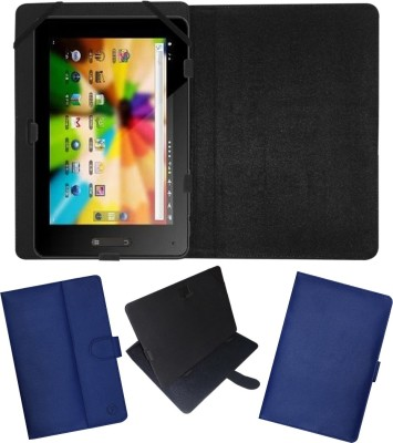 Fastway Flip Cover for BSNL Penta T-Pad IS801C(Blue, Cases with Holder)