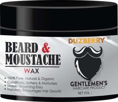 Duzberry Premium Beard & Mustache Hair Wax - Strong Hold Hair Wax(110 ml)